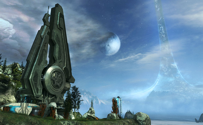 Pic from the game Halo anniversary edition