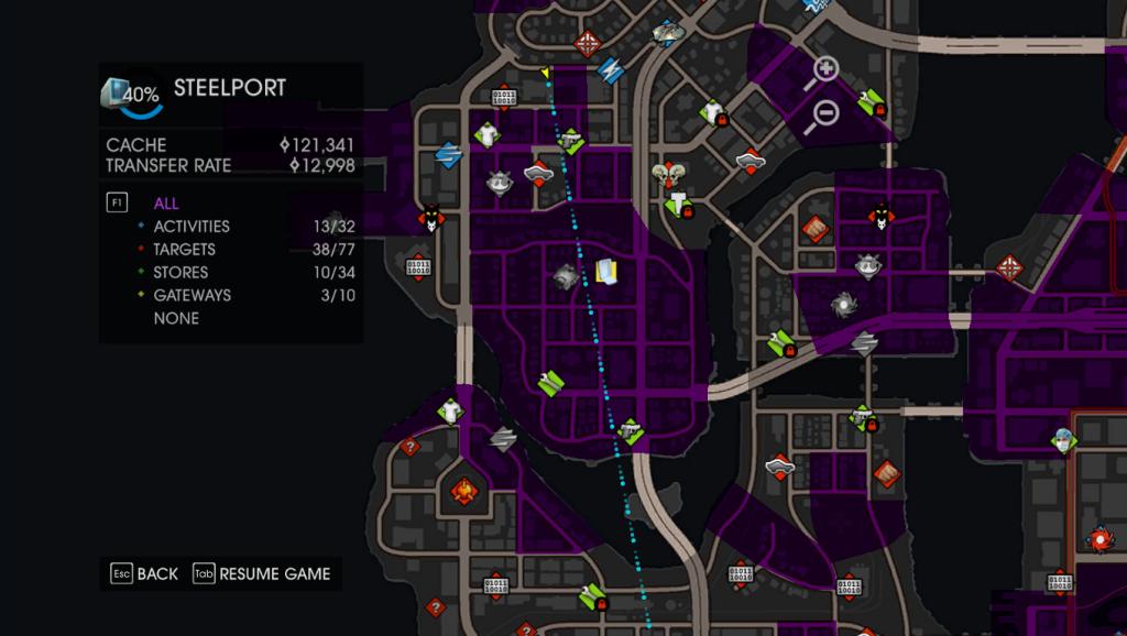 Latasz po całej mapie, aby znaleźć, wyciągnąć, odblokować coś tam.