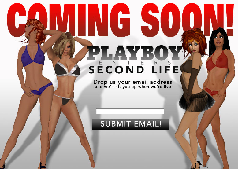 Playboy w Second Life