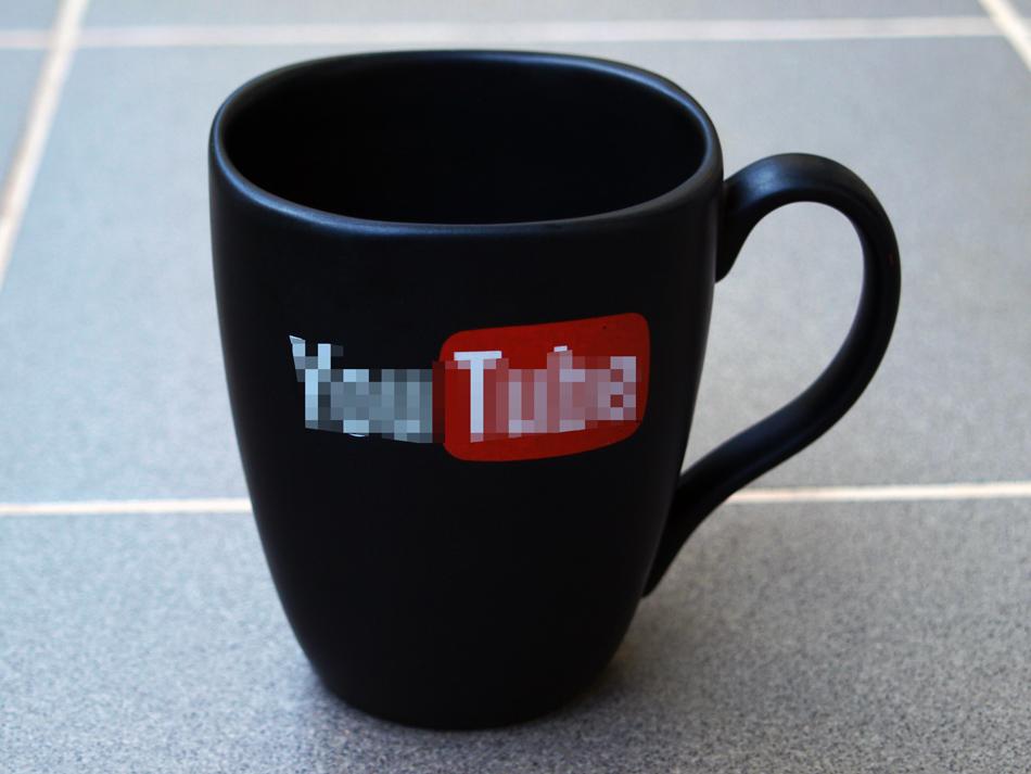 kubek YouTube