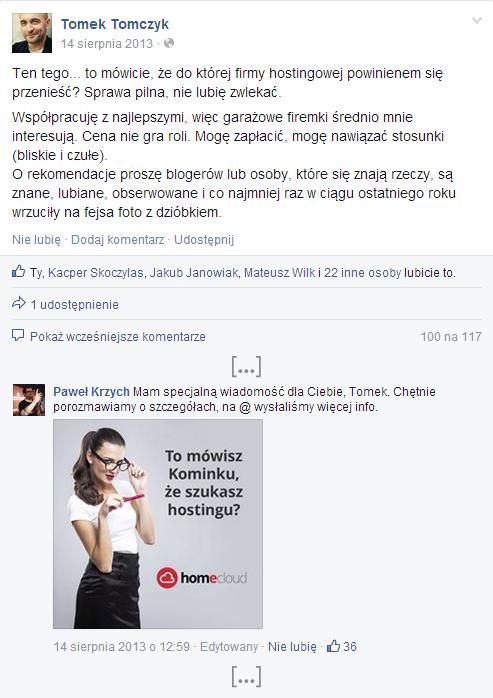 Kominek i home.pl