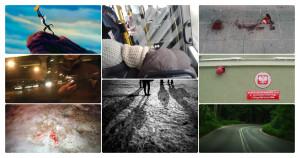 Kolaż zdjęć obrazujących krótkie sceny
