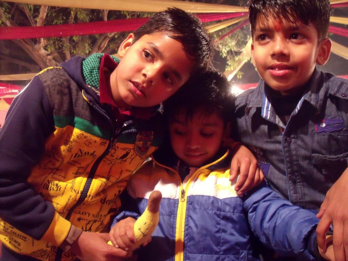 Indyjskie dzieci