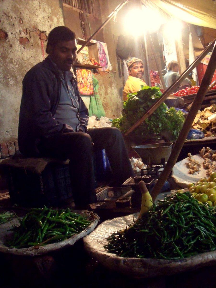 indyjskie bazary