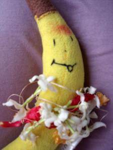 banan w świątyni