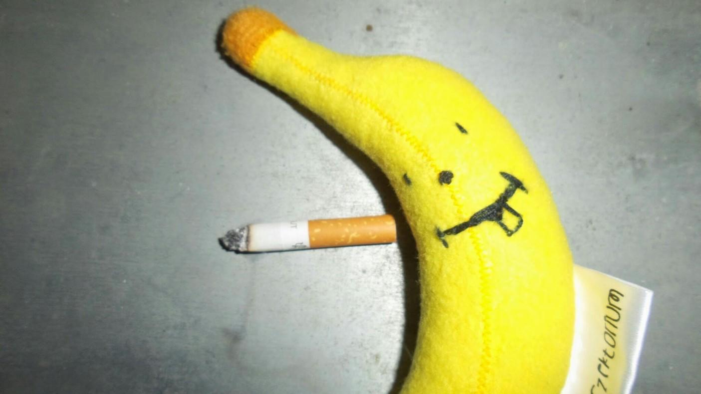 fajki na balkonie