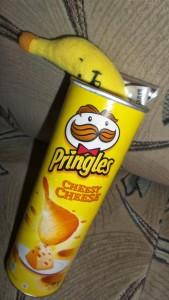banan je chipsy