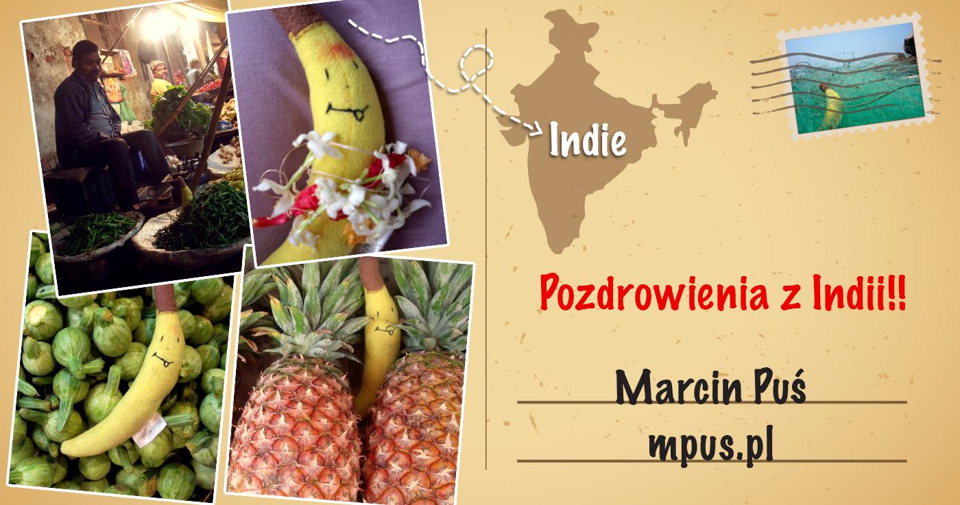 Pozdrowienia z Indii przesyła pluszowy awatar