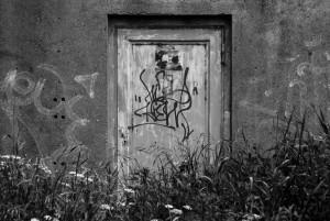 drzwi do bunkru