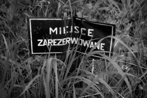 Na żywo z cmentarza położonego na zboczu góry z przepiękną panoramą między innymi na Dzikowiec.