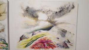 To jeden z moich ulubionych obrazów z Galerii Sztuki. Pięknie oddaje klimat Islandii.