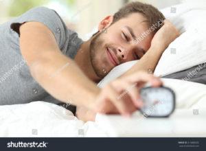 Wstaję rano, wyłączam budzik.