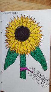 Chociaż bardziej lubię mroczne klimaty, chciałem sprawdzić, czy dam radę narysować coś ładnego. Wydaje mi się, że poszło nienajgorzej.